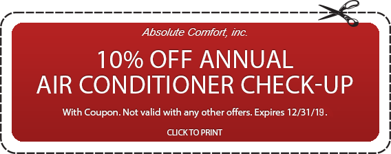 Colorado Springs air conditioner check-up coupon