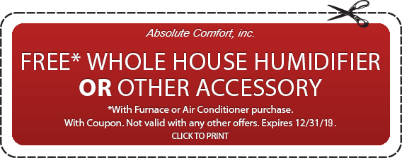 Colorado Springs humidifier or other accessory coupon